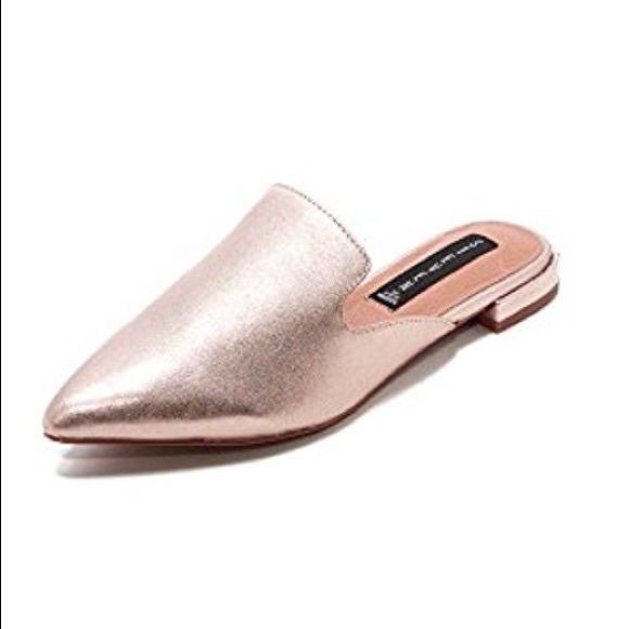 faa3c32f29b4 Steven By Steve Madden Shoes | Rose Gold Valent Slides | Poshmark